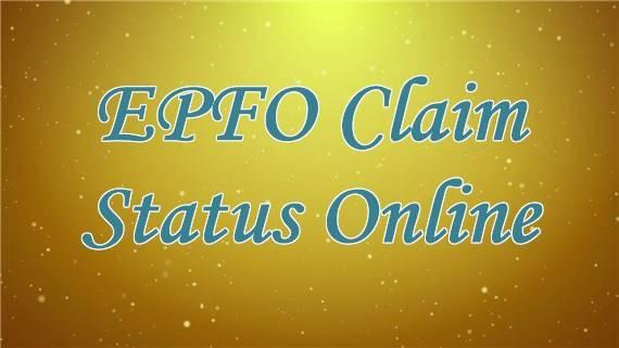 EPFO Claim Status Online