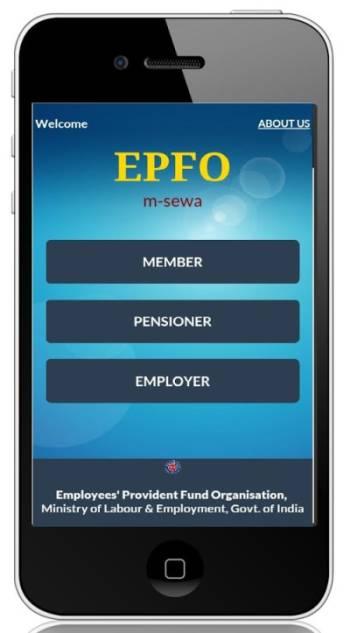 pf status mobile app