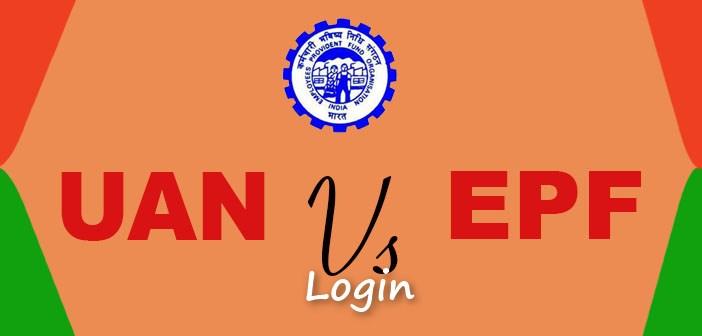 UAN EPF Login